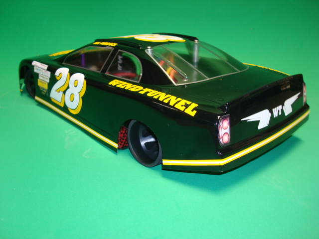 "WT2210  Windtunnel WJM ""HDX"" Oval Stock Car Body"