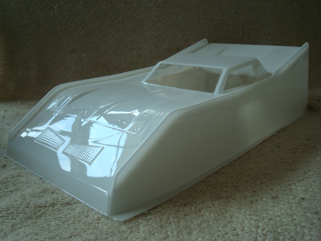 WT2386 Dirt Oval Wedge Body (1/10th Scale)