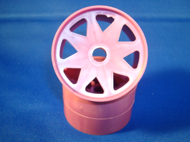 WT8690PPL Windtunnel 1/10th Purple Front Wheels (pair)
