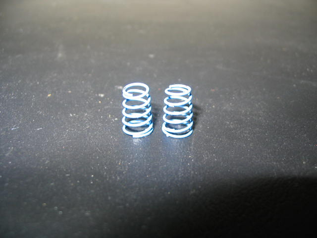WT2902 Blue 6#-8# Progressive Front Springs (pair)