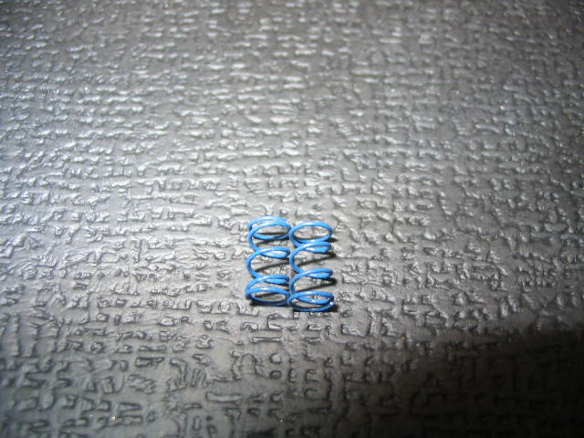 "WT3402 Blue (.16) ""Babies"" 1/12th Scale Front Springs (pair)"