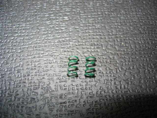 "WT3405 Green (.22) ""Babies"" 1/12th scale Front Springs (pair)"