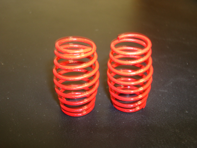 WT3324 8# RED PRO CS Springs (One Pair)