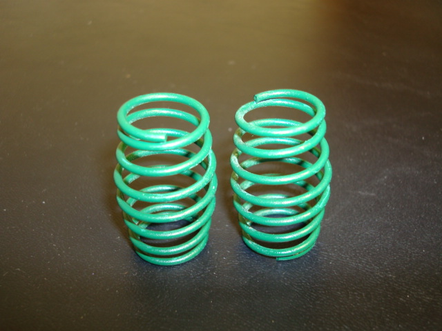 WT3325 10# GREEN PRO CS Springs. (One Pair)