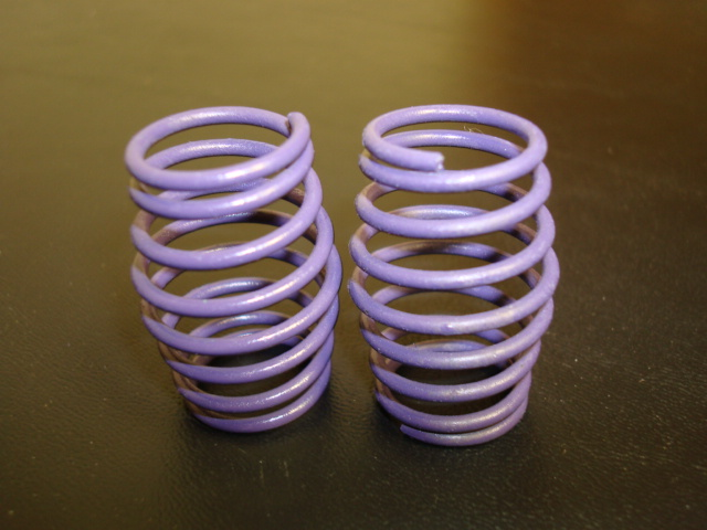 WT3326 12# PURPLE PRO CS Springs (One Pair)