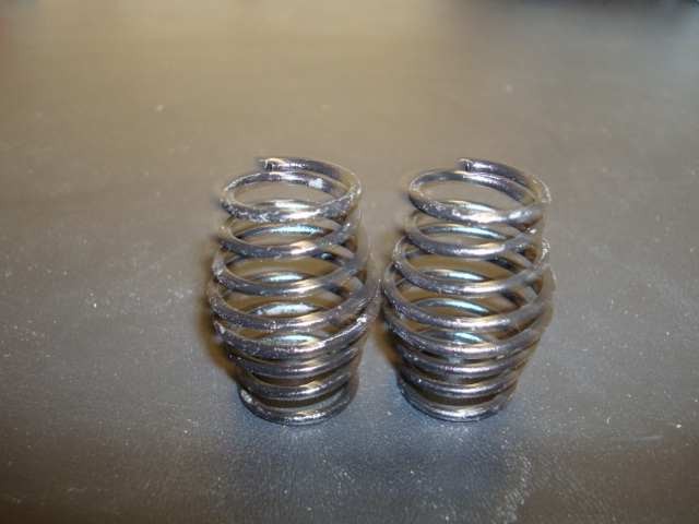 WT3327 14# Black PRO CS Springs ( One Pair)