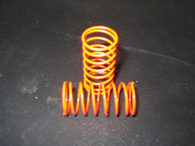 WT3302 Orange 2# (CS) Center Shock Springs. (pair)