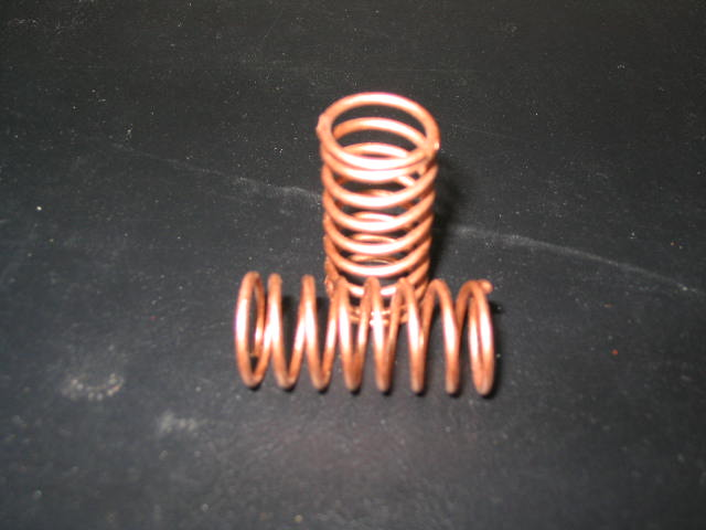 WT3311 Copper 11# (CS) Center Shock Springs. (pair)