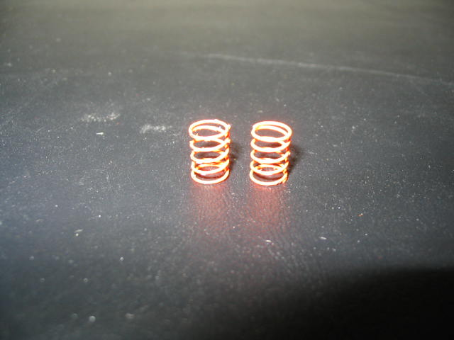 WT3001 Orange 4# Standard Front Springs (pair)